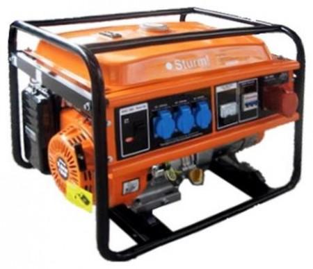 Бензиновый генератор Sturm PG8763E