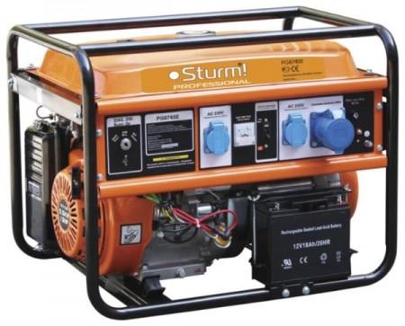 Генератор STURM бензиновый 4500 Вт PG8745E