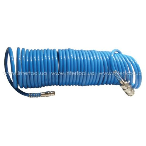 Шланг спиральный полиуретановый 5.5 * 8 мм 20м  PT-1709