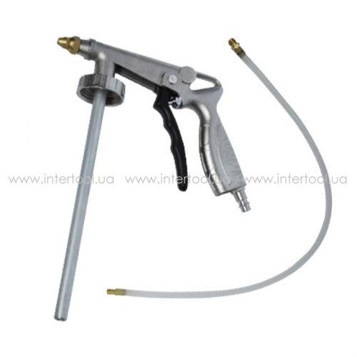 Пистолет под гравитекс пневматический с гибкой насадкой  PT-0703