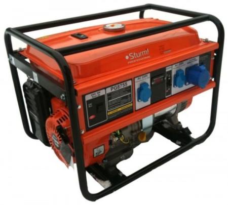 Генератор STURM бензиновый 5500 Вт PG8755