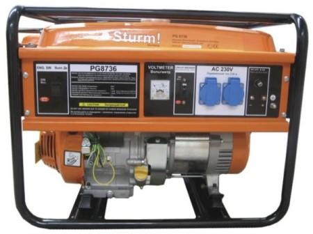 Бензиновый генератор Sturm PG8736