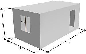 Купить блок комнату из бетона доставка бетона череповец