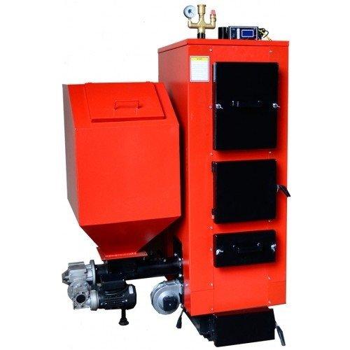 Котел твердотопливный с автоматической подачей Altep КТ-2Е-SH 25 кВт