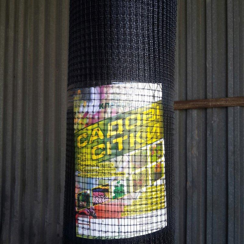 Сетка пластиковая для птиц  1*100 м (12*14)