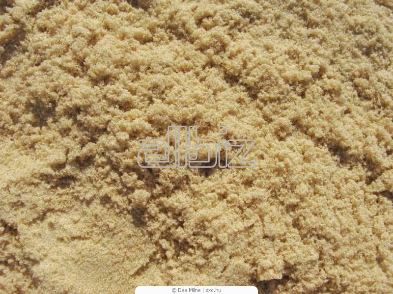 Песок  карьерный  белый от 1 тонны