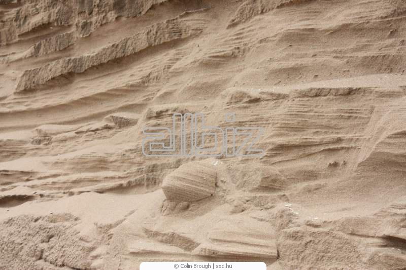 Песок  карьерный желтый оптом от 1 тонны