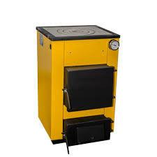 Буран 12П кВт толщина стали-4 мм. до-120м.кв. с плитой (одна конфорка)