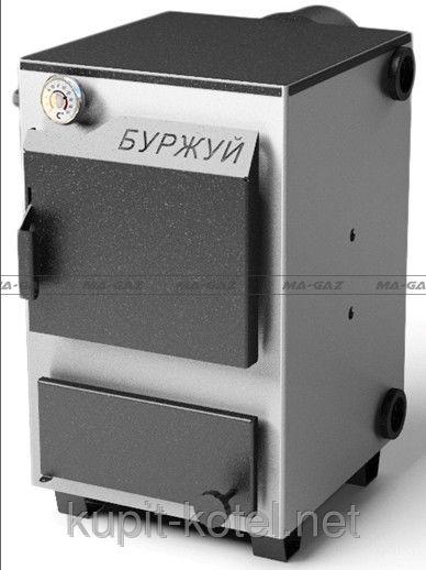 Котёл твердотопливный К-15 кВт, сталь 3 мм+ бесплатная доставка по Украине