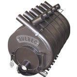 Отопительная печь тип 03 (600м.куб) – QUEBEC, Канадская печь на дровах, буллерьян, сталь 4мм
