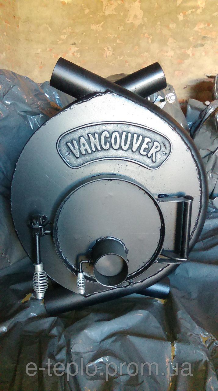 Отопительная печь тип 01 (200м.куб) – VANCOUVER. Канадская печь, булерьян, сталь 4мм