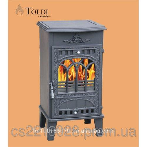 Чугунная печь-камин Толди 8kw Eko