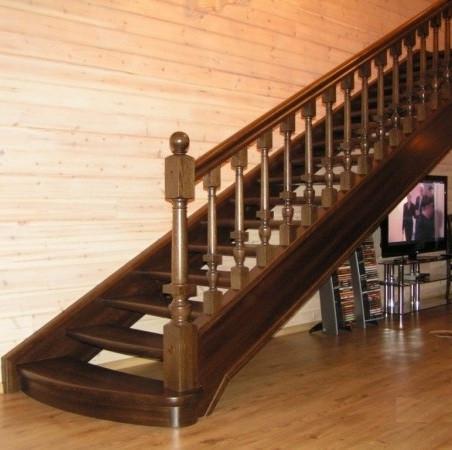 Лестница деревянная №13