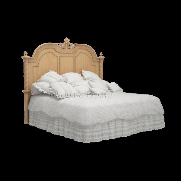 Кровать деревянная №6