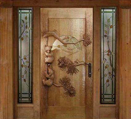 Дизайнерская входная дверь