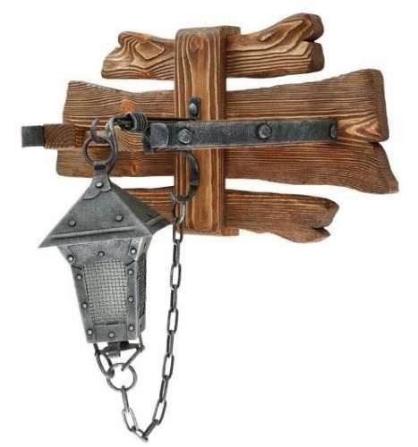 Светильник деревянный