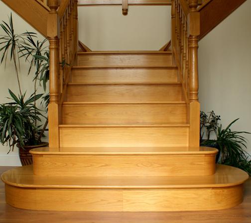 Лестница деревянная №6