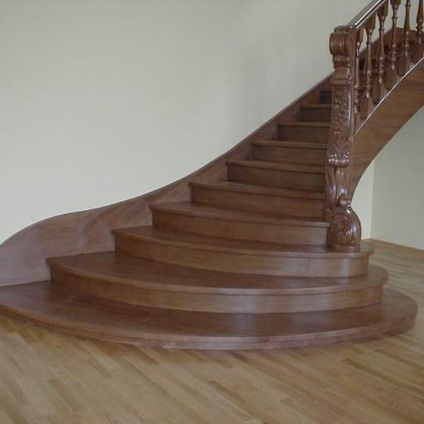 Лестница деревянная №7