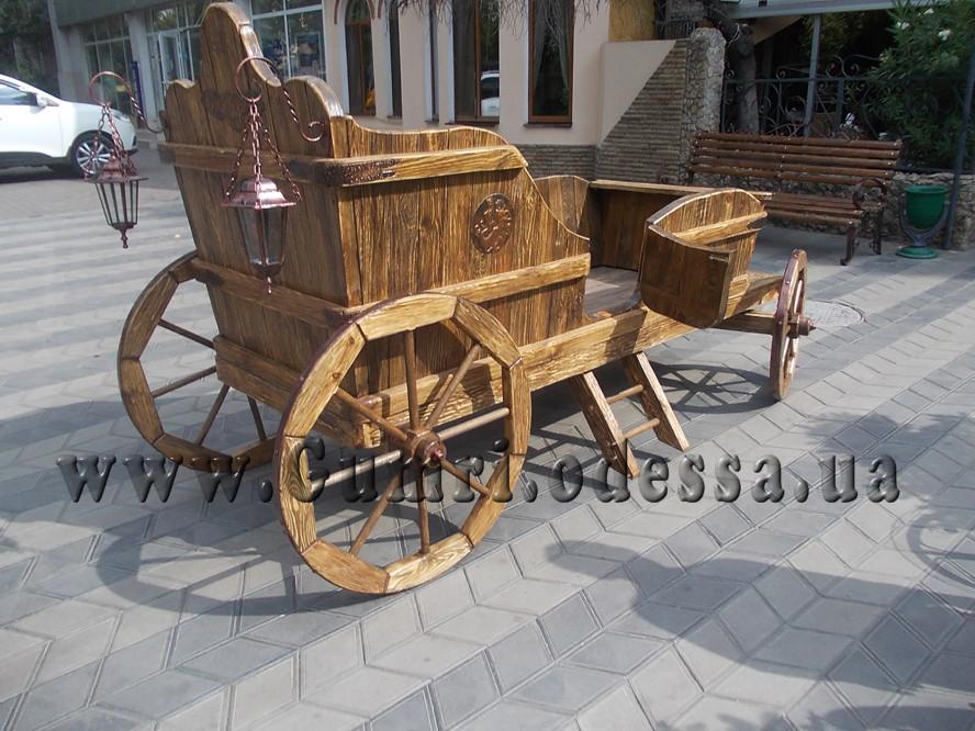 Деревянная карета