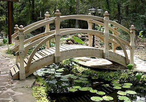 Садовый мостик №4