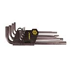 Ключи 6-гранные 9шт 1.5-10мм CrV