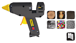 Пистолет электр. для клея Ø11.2мм 180Вт 20-30г/мин