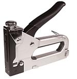 Степлер с регулятором для скоб 4-14мм (хром)