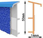 Плинтусы для ковровых покрытий TSL