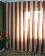 Тканевые вертикальные жалюзи, с шириной ламели 127 мм