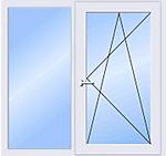 Окно 9-12-ти этажка 1500*1500