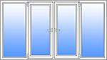 Балконная рама 3000*1500