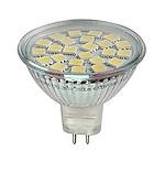 Светодиодная лампа 3.6Вт,  MR16, теплый свет.