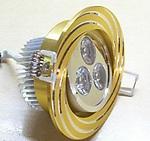 Точечный светильник 3Вт.