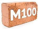 Кирпич М-100(полнотелый)