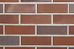Клинкерный кирпич  0054 Suddendorf rot-bunt-geflammt - Красный с синевой