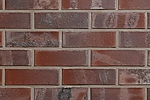 Клинкерный кирпич  0104 Brandenburg rot-bunt - Красный с углем