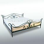 Кованая кровать KR-31